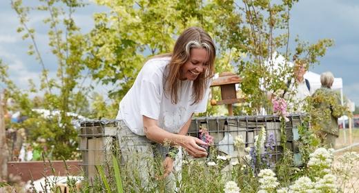Foredrag med naturhavebogsforfatter Katrine Turner