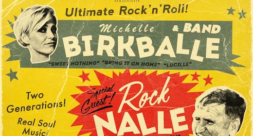 Michelle Birkballe & Rock Nalle