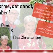 Juleshow med Tina Christiansen og Claus Pries