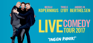 Live Comedy Tour17 - Ingen Panik!