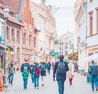Online-rejse til Litauen