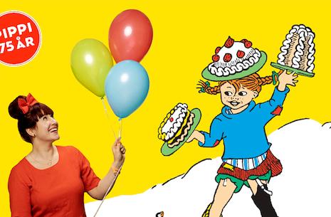 Familiekoncert 3-12 år. Katrine - Pippis fødselsdagsshow