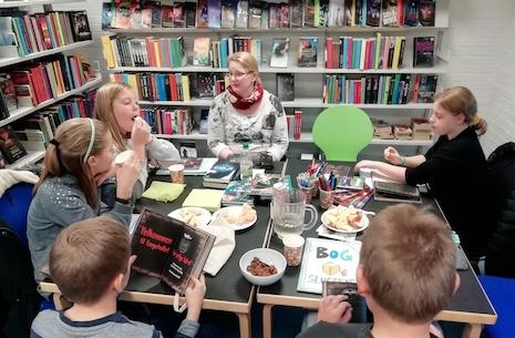 Bogslugerne - bogklub for børn på Gørlev Bibliotek