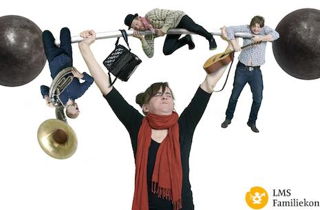 Familiekoncert 3-10 år. Tubalupa Band