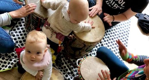 Musik: Babybongo (6-16 måneder)