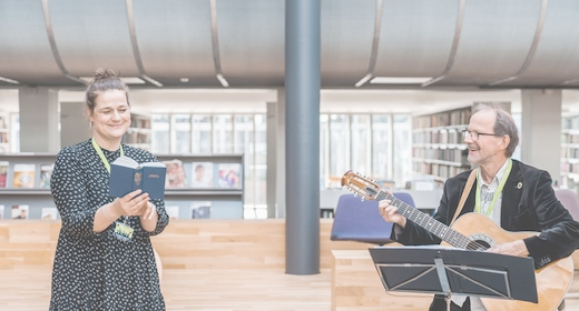Virtuel Morgensang fra Randers Bibliotek