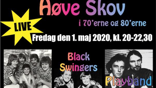 Lovebirds - Black Swingers og Playband spiller op til Fredagsdans