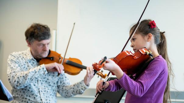 Julekoncert med musikskolen