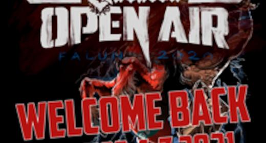 Sabaton Open Air August 4-7 2021