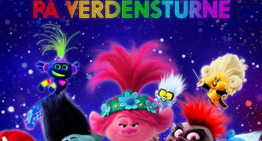 Trolls på verdensturné - Dansk tale