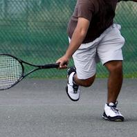 Badminton og floorball/fodbold