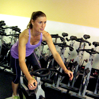 Senior træning i gram motionscenter