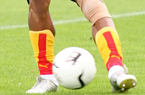 Fodboldkamp Herre-DS Pulje 2 - LSF mod Greve