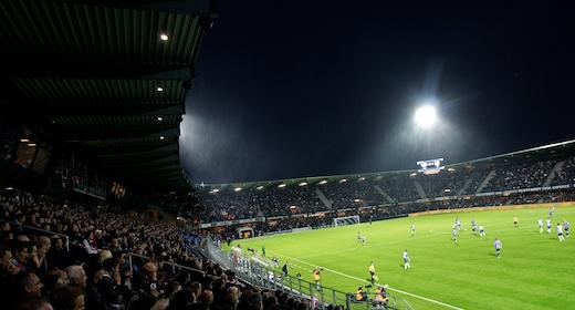 Fodboldkamp 3F Superliga Pulje 1 - Lyngby BK mod SønderjyskE