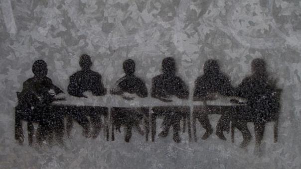 Menighedsrådsmøde i Jerne Sognehus