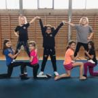 Sjov med spring, akro og cheer (7-10 år)