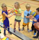 Basketball i Højvang for børn (6-11 år)
