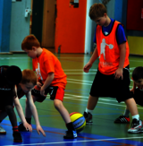 Basketball i Østbirk for børn (6-11 år)