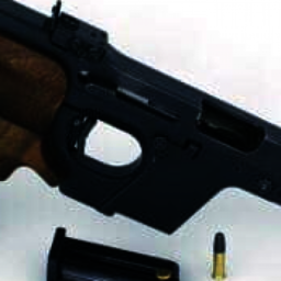 Pistol skydning.