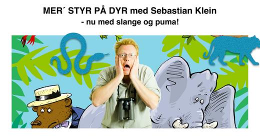 Sebastian Klein - Mer' styr på dyr // Magasinet