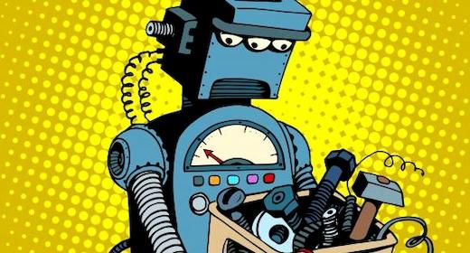 Byg små gakkede robotter | Mandag