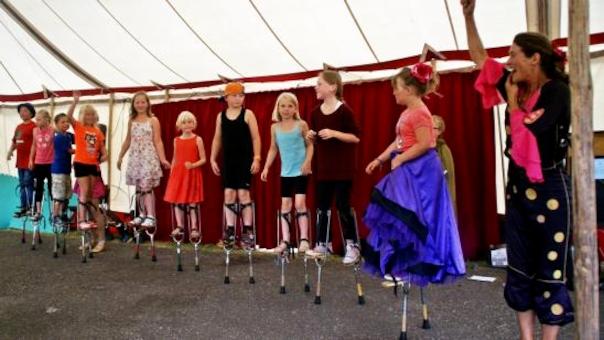 Sommer-cirkusskole