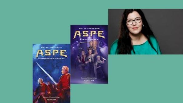 Forfatterbesøg om A.S.P.E-serien