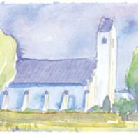 Aftengudstjeneste m. nadver i Bregnet kirke