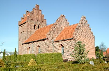 Højmesse i Ganløse Kirke ved Klaus Meisner