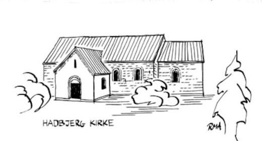 Genforeningsgudstjeneste, Hadbjerg Kirke