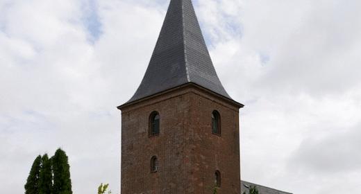 Højmesse i Haldum Kirke
