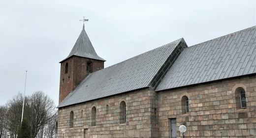 Højmesse i Skads Kirke ved Linda Roslyng