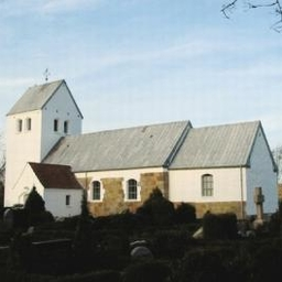 Højmesse i Hoven Kirke.