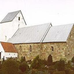 Højmesse i Egvad Kirke.
