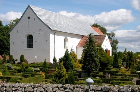 Kirken er åben