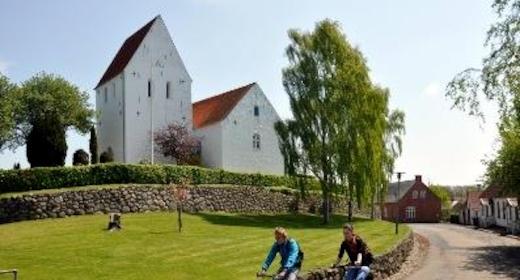 Gudstjeneste i Ulbølle Kirke v. Andreas Bojsen Møller