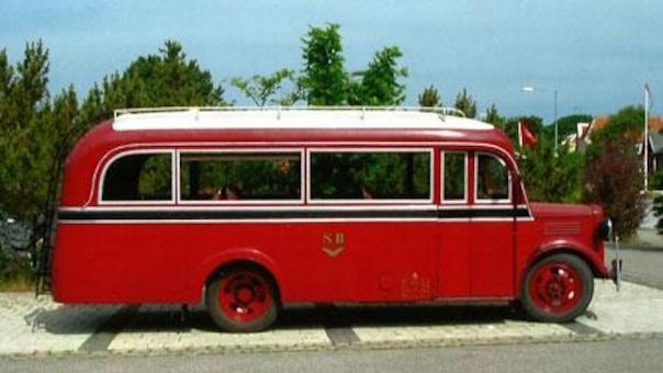 Skagens gamle Bedfordbus