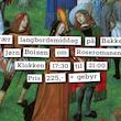 Litterær langbordsmiddag - Roseromanen