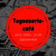 Tegneseriecafé i september