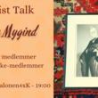 Artist Talk - Sofie Mygind