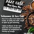 Jazz Café med Open Mic