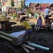 WHAT BOX pop-up byggelegeplads på Torvet i Herning
