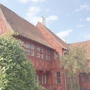 Strikkecafé i Von Oberbergs Hus