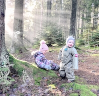 Indvielse af Natureventyr i Storskoven, Hvalsø (for familier med børn 3-8 år)