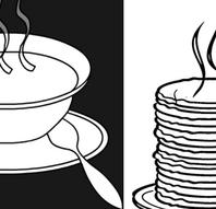 Glostrup Kulturnat, Varm suppe og pandekager