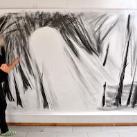 Det sort-hvide univers udstilling af billedekunstner Nurith Lumer-Klabbers