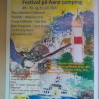 Festival på Aarø camping 29, 30. og 31. juli - torsdag åben scene