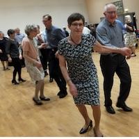 Den skaldede pædagog, musik Arne, Villy og Bjarne med dans