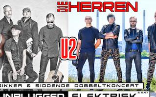 Die Herren: U2-dobbeltkoncert - unplugged og elektrisk