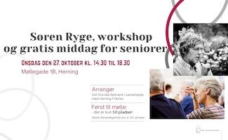 Samhørighed - foredrag med Søren Ryge, workshop og gratis middag